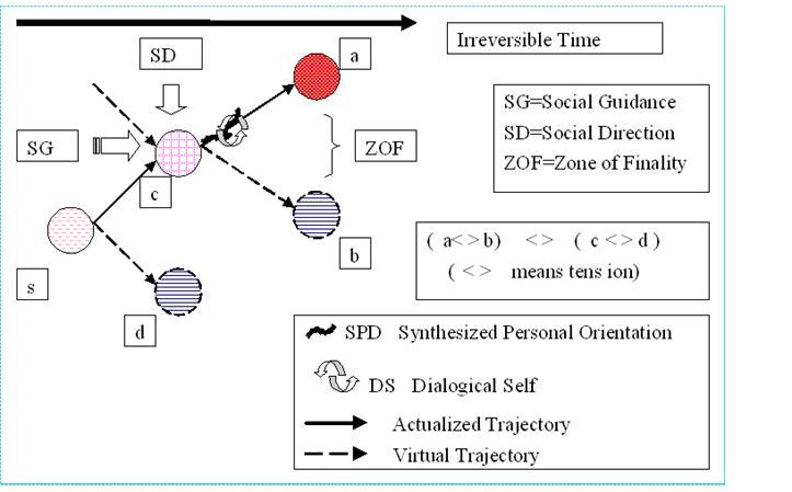 複線径路等至性モデル(TEM)(Sato,Hidaka and Fukuda,2009)